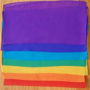chakra silks set seven squares trade pack