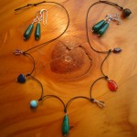 chakra necklace jewellery carved crystals
