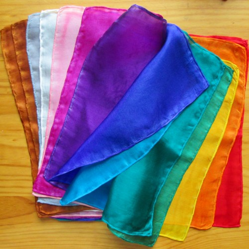 chakra colour therapy silks