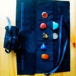 crystal carry bag